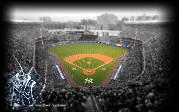 Yankee Stadium desktop by wickedwotwes