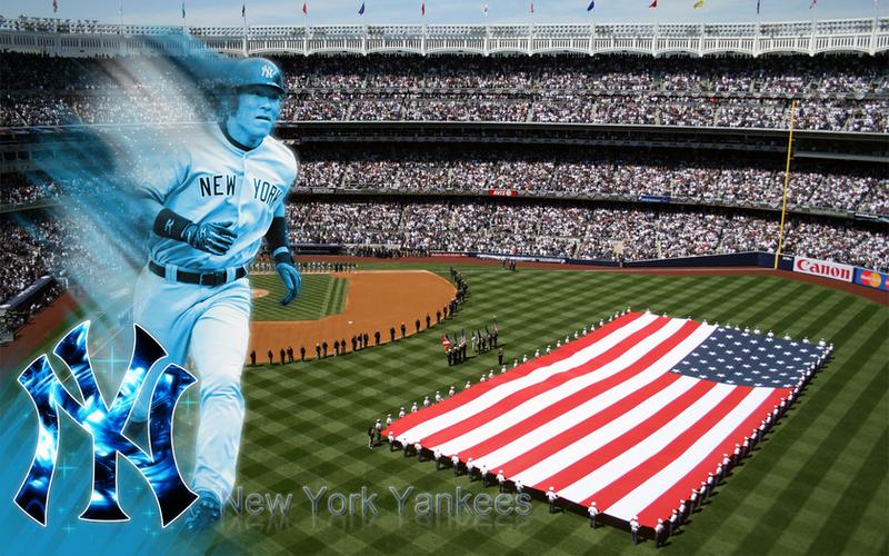 New Yankee Stadium Wallpaper By Wickedwotwes