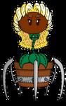 PvZ Sunflower Queen