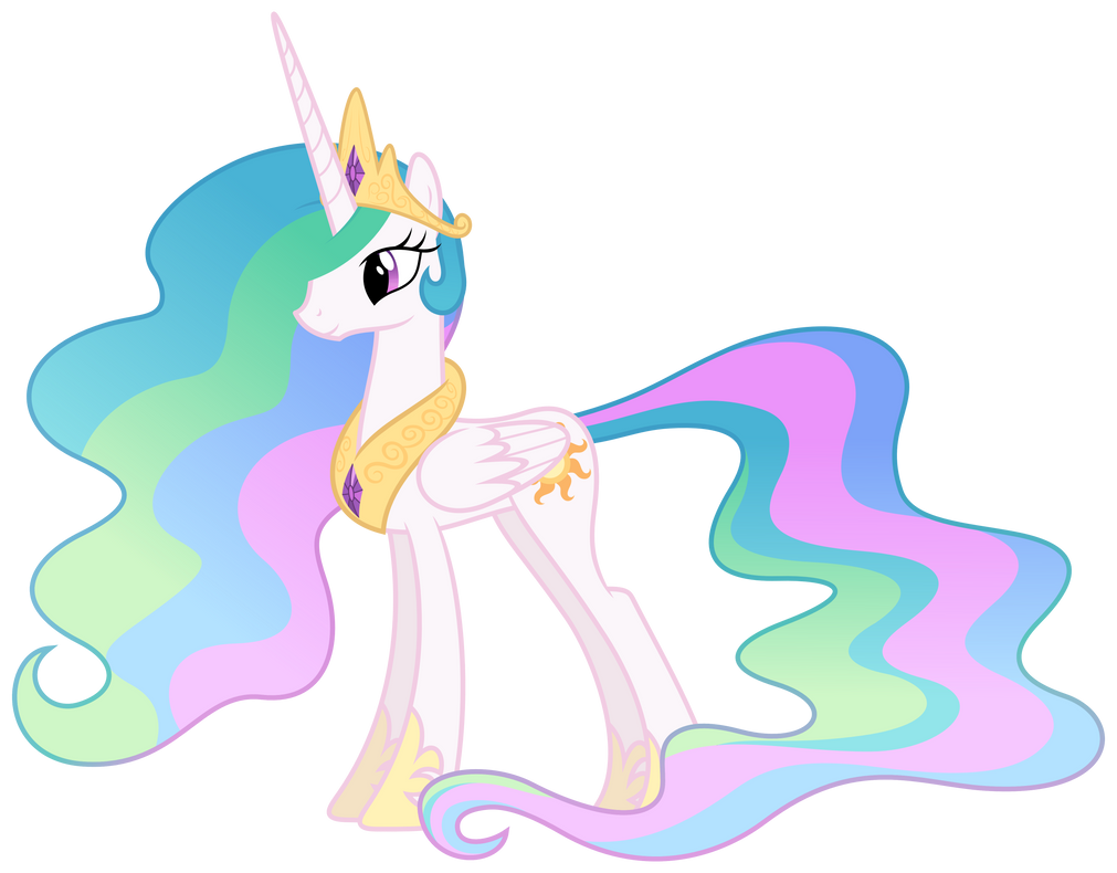 MLP Resource: Celestia 01 by ZuTheSkunk