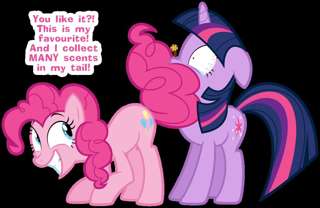 Pinkie Pie's tail by ZuTheSkunk
