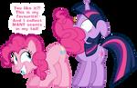 Pinkie Pie's tail