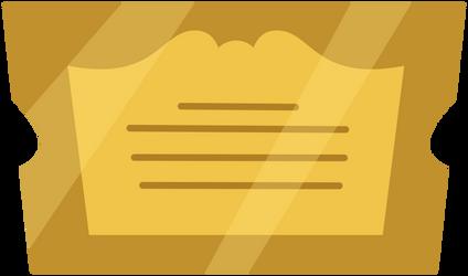 MLP Resource: Gala Ticket by ZuTheSkunk