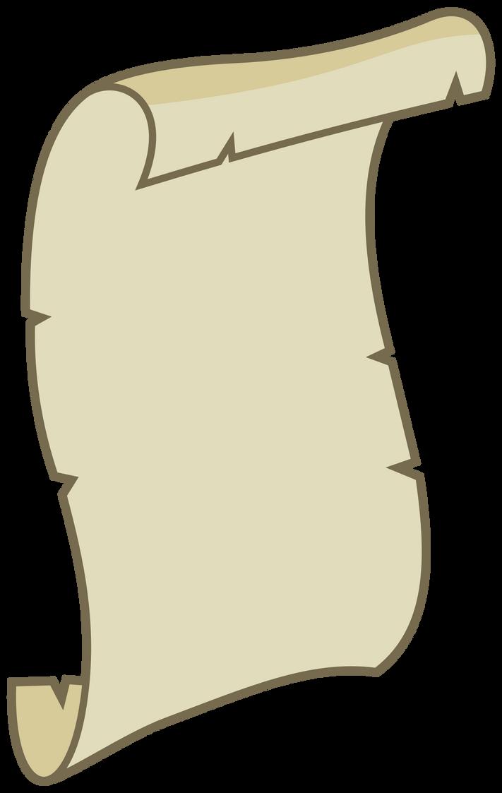 MLP Resource: Unfurled scroll by ZuTheSkunk