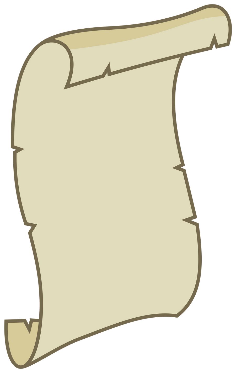 MLP Resource: Unfurled scroll