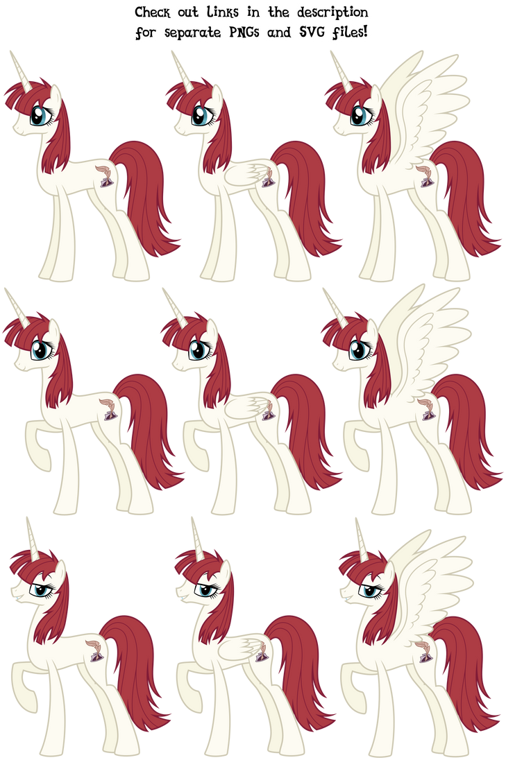 MLP Resource: Queen Faust 01 by ZuTheSkunk
