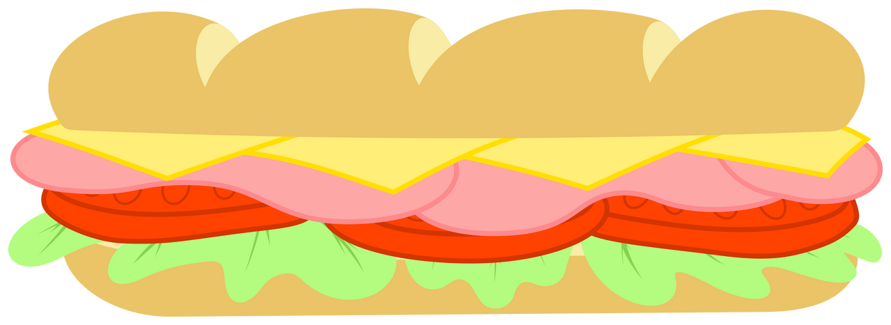 MLP Resource: Subway Sandwich by ZuTheSkunk