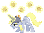 Derpy Hooves, artificial unicorn horn #1