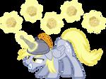 Derpy Hooves, artificial unicorn horn #1