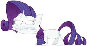 April Fools' Rarity by ZuTheSkunk