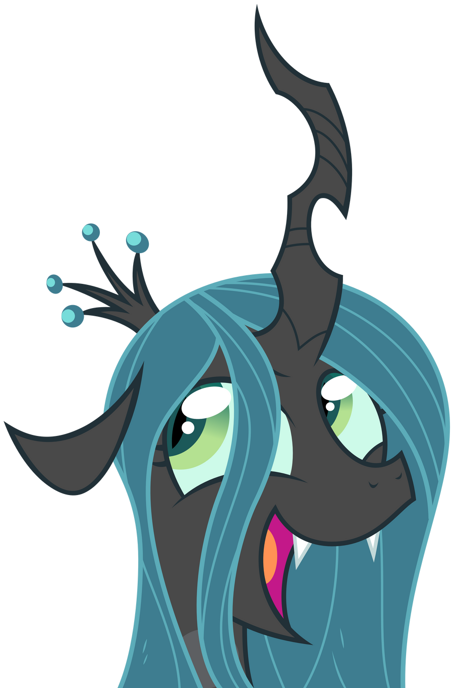 Egophiliac: Chrysalis Is Awesome (vectorized) by ZuTheSkunk