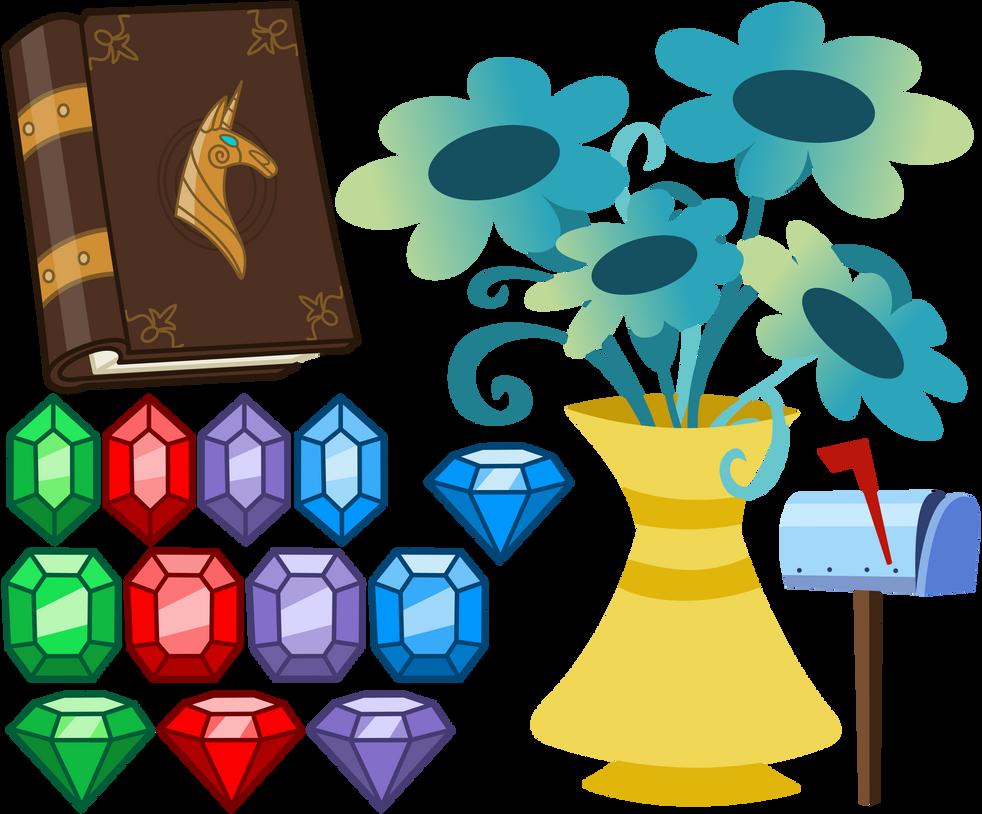 MLP Resource: Random Clutter 005 by ZuTheSkunk
