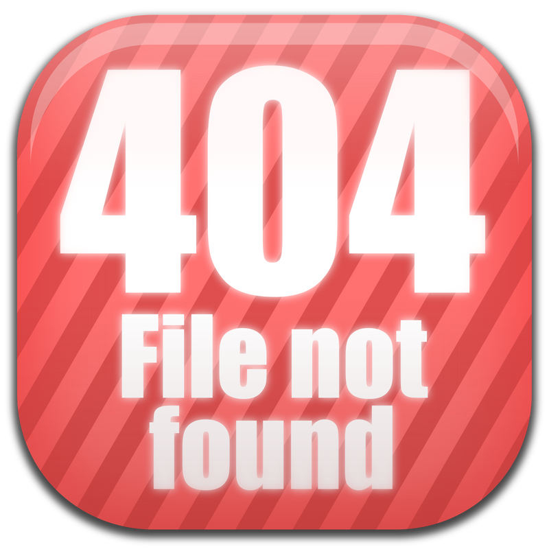 404 File Not Found sign