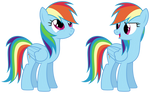MLP Resource: Rainbow Dash 01