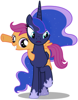 MLP Resource: Luna and Scoots 01 by ZuTheSkunk