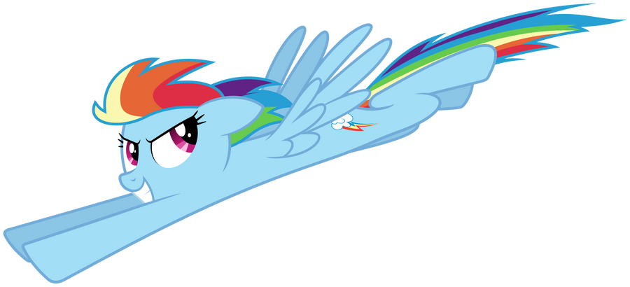 MLP Resource: Rainbow Dash 02 by ZuTheSkunk
