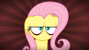 Fluttershy shows her manface or something. by ZuTheSkunk