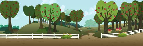 MLP Resource: Bgr 009 (Sweet Apple Acres) by ZuTheSkunk