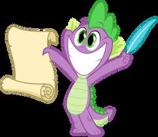 MLP Resource: Spike 04 by ZuTheSkunk