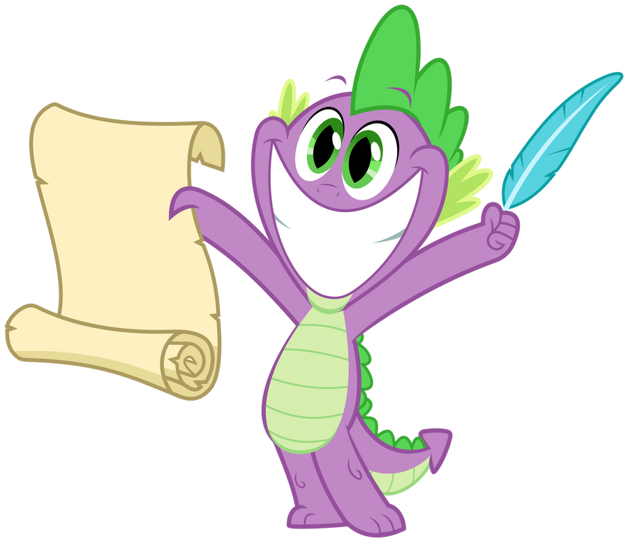 MLP Resource: Spike 04 by ZuTheSkunk