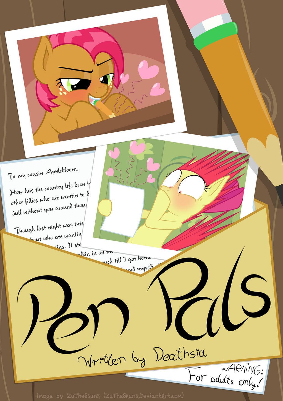 Pen Pals cover by ZuTheSkunk on DeviantArt