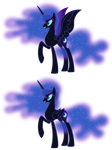 MLP Resource: Nightmare Moon 04 (nekkid)
