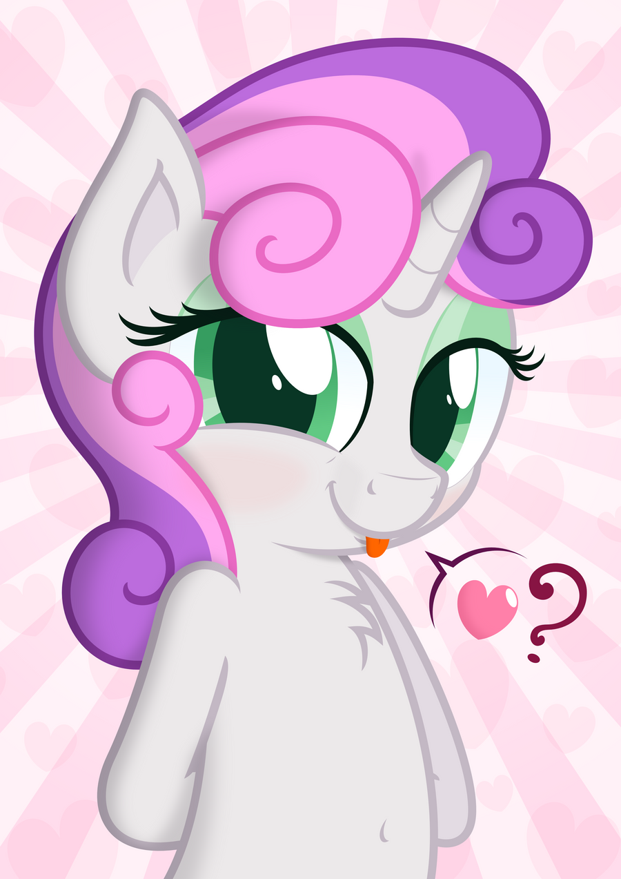 Sweetie Belle #1 by ZuTheSkunk