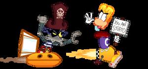 Rayman VS Razorbeard