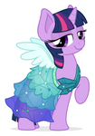 Commission: Twilight in a dress