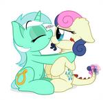 Commission: Lyra and Tatzlbon
