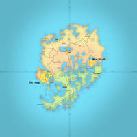 TES4: Map of Shivering Isles