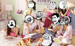Rage Faces on Girls Generation