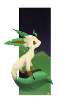 Leafeon by mewgal