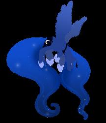 Princess Luna by mewgal
