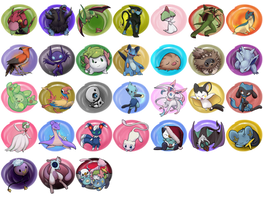 Pokeddexy - One Pokemon for Every Day of December by mewgal