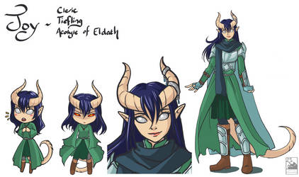 DnD : Joy Character Sheet Lvl 5