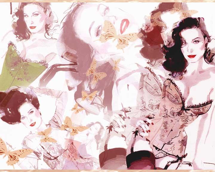 Dita von teese by angelthanatos