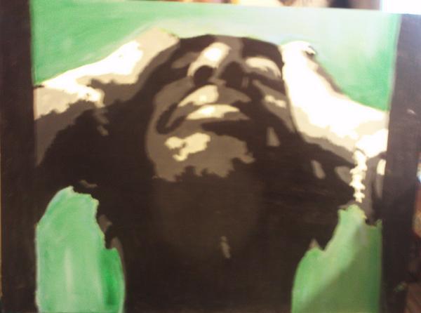 Tupac Stencil By LunaCreationsX On DeviantArt