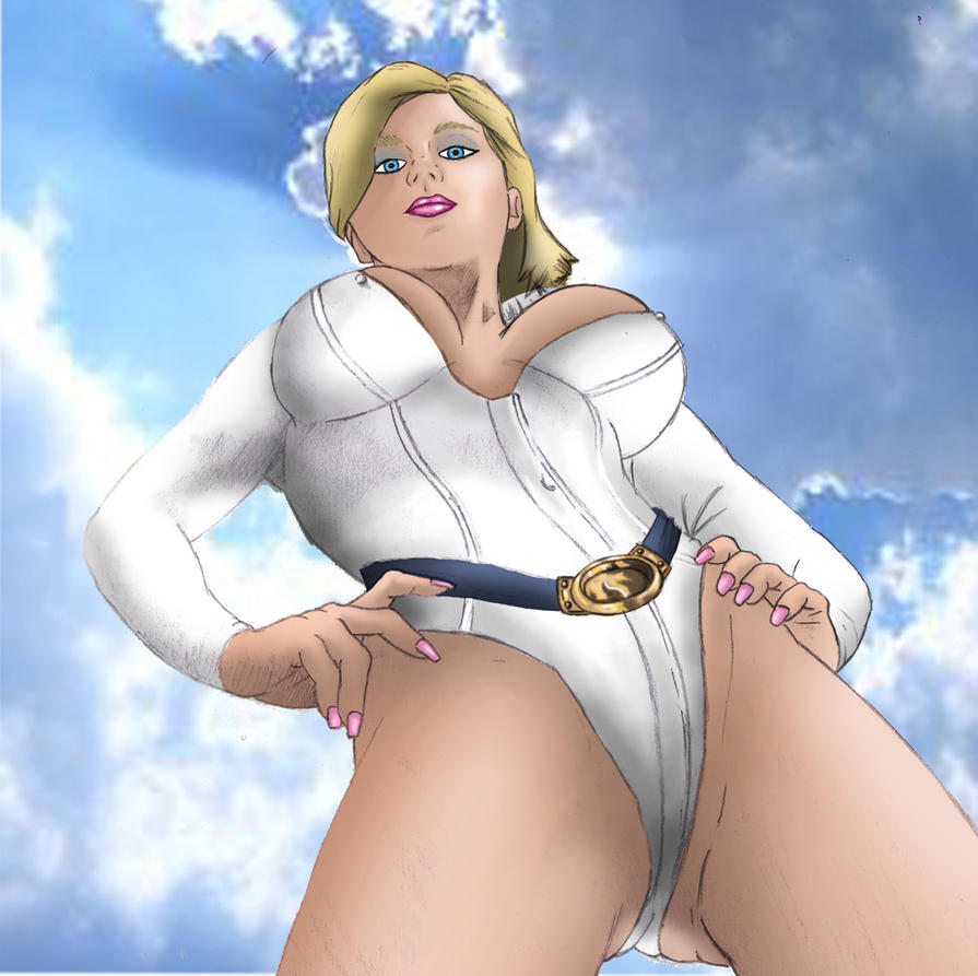Power Girl by NaughtyWookie