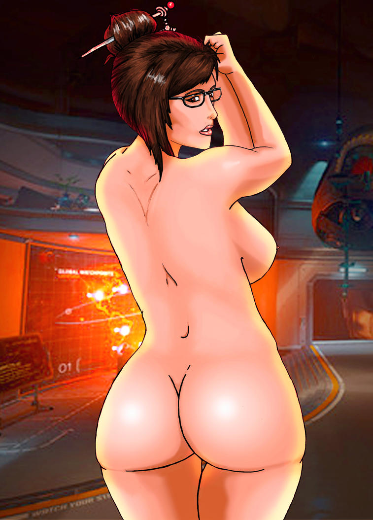 overwatch mei naked