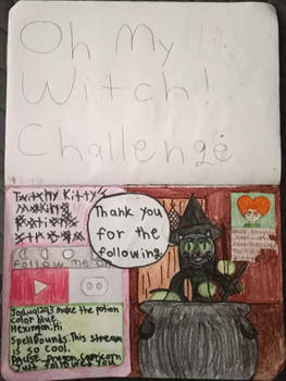 My Oh My Witch! Challenge Drawing