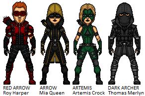 Team Arrow by Joker960317