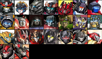Ultimate Transformers: Team Prime (2nd Squad)