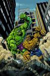 Hulk vs. Thing