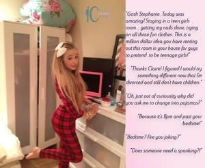 Rented a teen girl room