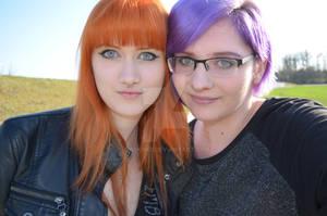 orange violet duett