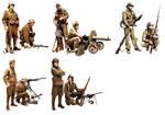 Republican Army illustrations