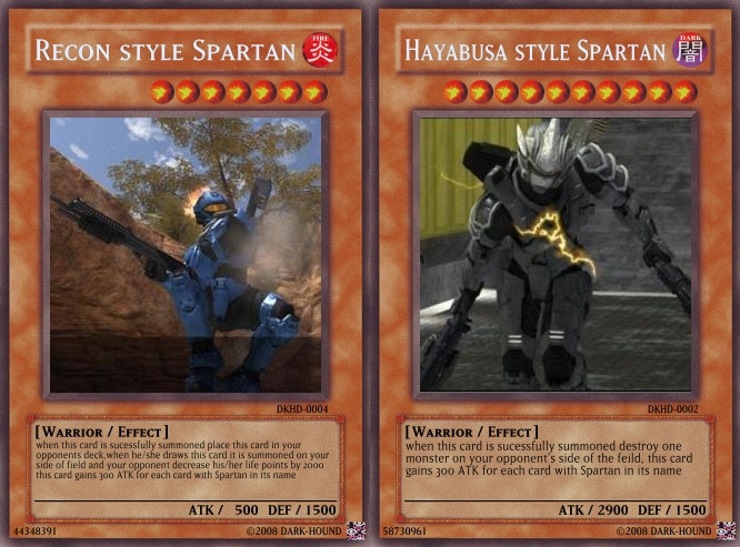 Spartan cards by Dark-Hound
