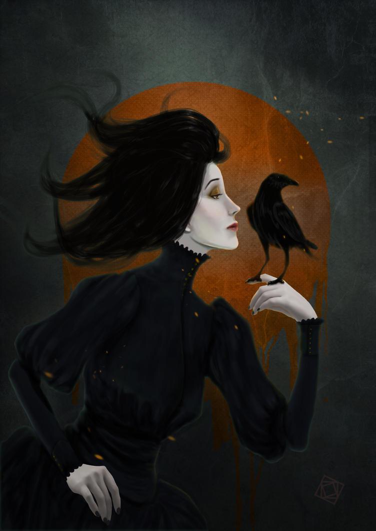 Black kiss by FeuSigil