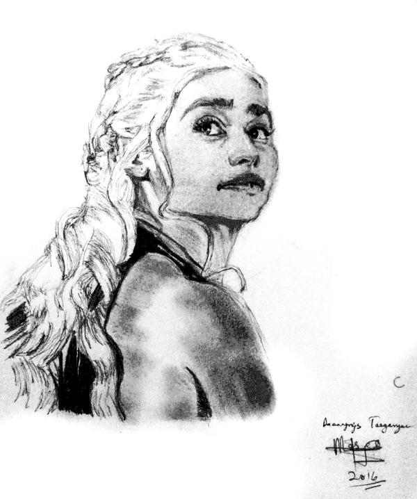 Daenerys Targaryen by mosesjunior